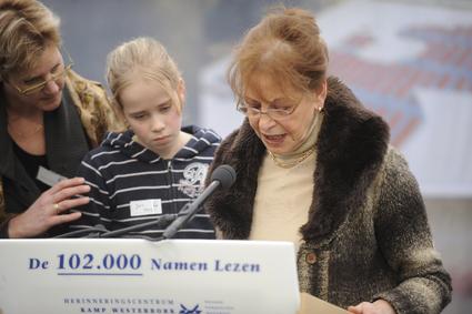 Eva Weyl ontvangt Verdienstkreuz am Bande