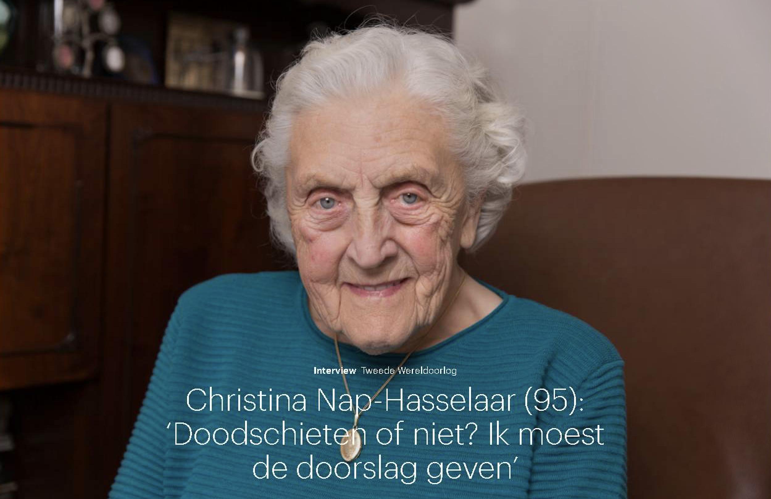 Christina Nap-Hasselaar (Trouw)