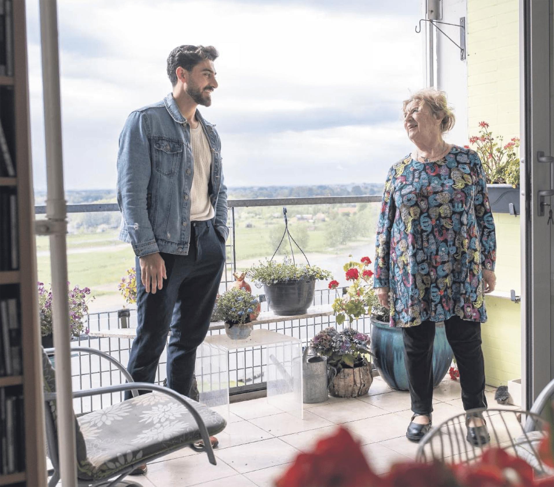 NIeuwe Duo gastles: Emmy en Wahab
