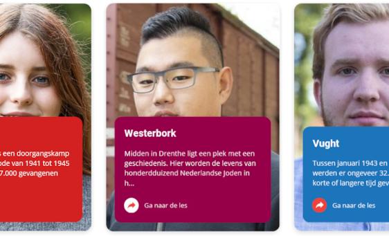 MBO project: www.plekkenmeteenverhaal.nl